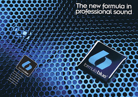 Formula Blue Audio Product Advertising Photography